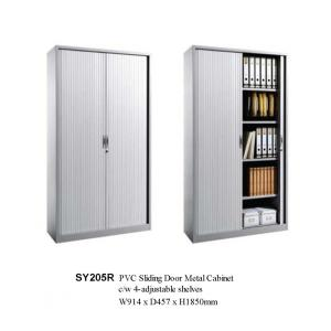 office Vertical Steel Tambour Door File Cabinet