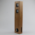 Long Pendulum Wooden Wall Hanging Flip Clocks
