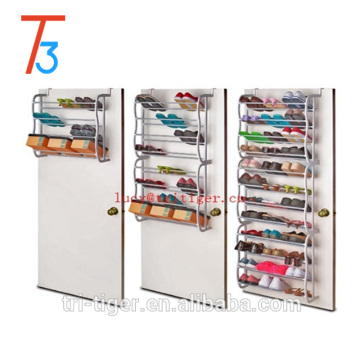 As seen on tv over the door 36 pair shoe rack