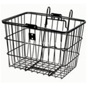 Metal Black Stainless Steel Basket