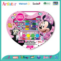 DISNEY MINNIE 65 pieces coloring art set