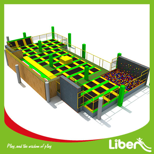 Indoor Adult Trampoline Park for Commercial
