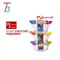 Multifunctional 360 Degree Smart Carousel Organizer Hanging Shoe Organizer