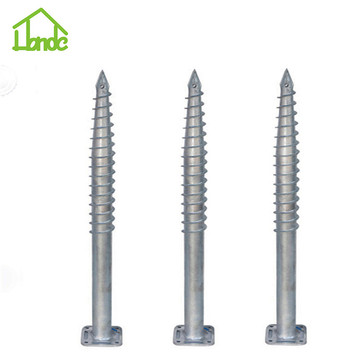 No dig hot galvanized from factory