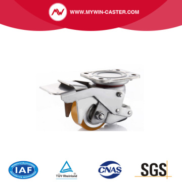 Aluminum Alloy PU Auto Adjustable Caster