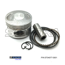 Professional for Jonway Scooter Piston Kit, GY6 150 Piston Kit, GY6 50 Piston Kit Manufacturer in China GY6 60CC 139QMB Piston Kit 44MM export to Netherlands Supplier
