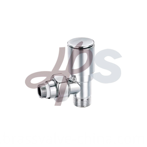 Brass Radiator Valves Polish Surface Hvr04