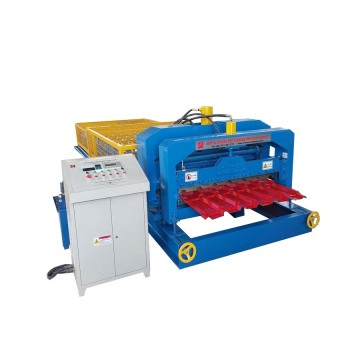 Rooftop Metal Glazed Tile Roll Forming Machine