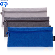 Wholesale Discount for Supply Pencil Case, Pencil Pouch, Pencil Box from China Supplier Simple and simple canvas color pen bag export to South Korea Factory
