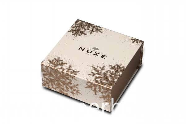 Nuxe Collapsible box with magnet and side way folding