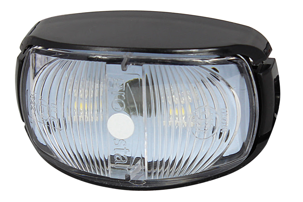 White Clearance Side Marker Lamps