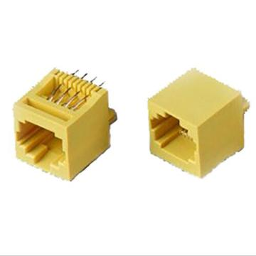 RJ45 Jack Top entry 8P8C Full Plastic