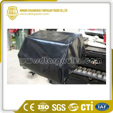 Outdoor Long Lasting Polyester Tarpaulin Machinery Cover