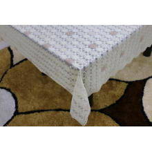 Printed pvc lace tablecloth by roll disney