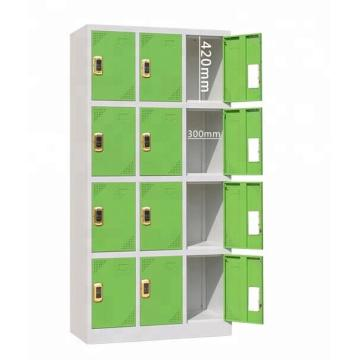Electronic coded lock steel 12 door locker