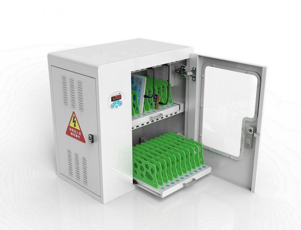 tablet and mobile phone charging station locker