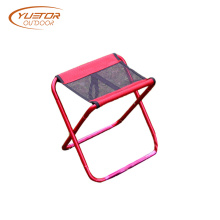 Portable Folding Camp Fishing Stool With Mesh Seat