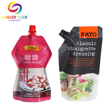 ECO Friendly Resealable Spout Stand Up Food Pouch