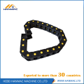 Black Nylon Drag Chain Wire Carrier CNC Machine