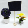 Rectangle 16*12CM Mini Chalkboard Standing