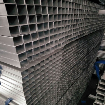Structural Galvanized Rectangular Black Hollow Pipe