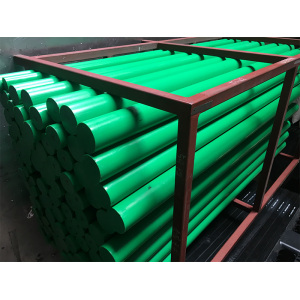 Low price for Hdpe Plastic Rod Green Color Extrusion 2M Length PE 500 Rod supply to Grenada Exporter