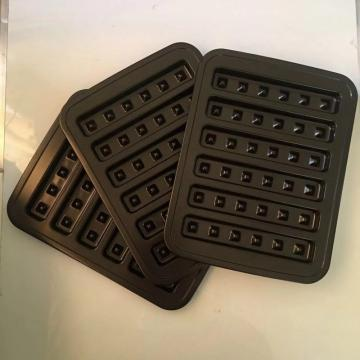 Oven Baking Molds Carbon Steel Waffle Tray Pan