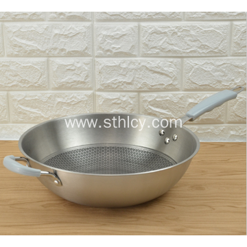 Hindi kinakalawang na Steel Frying Pan Para Sa Pagbebenta Hindi Stick