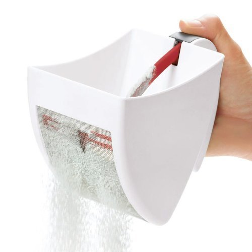 Plastic Scoop and Sift Flour Sifter For Baking