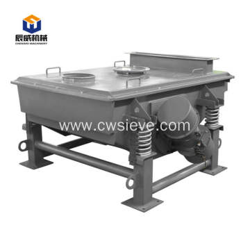 high quality industrial electric linear vibrating screener