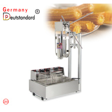 commerical manual  stainless steel churros machine
