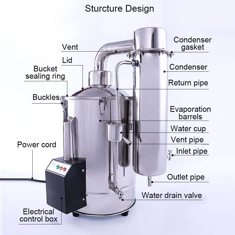 20Lautomatic cuts off home water distiller
