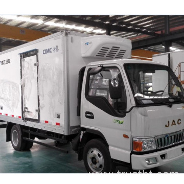 high voltage electric refrigeration for electric truck