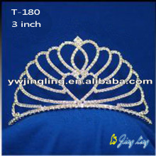Small Rhinestone Pageant Crown For Princess