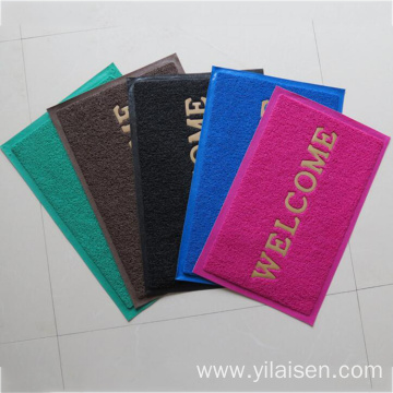 PVC coil cushion anti slip floor mat