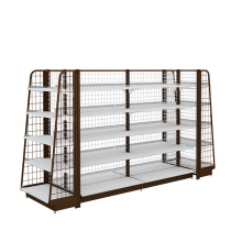 Good Quality for China Gondola Shelving,Steel Gondola Shelving,Supermarket Gondola Shelving Manufacturer and Supplier High Quality Supermarket Gondola Shelving export to Greece Wholesale