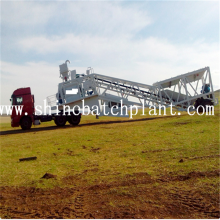 Hot Sell 90 Mobile Concrete Batching Equipment