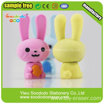 Professional Factory for 3D Stationery Eraser