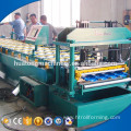 Fast speed metal roofing arc glazed tile forming machine