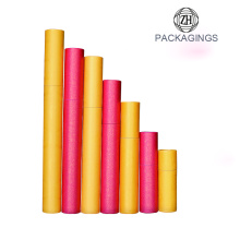 China supplier OEM for Cardboard Tube Packaging Custom round hat paper cardboard poster tube supply to Italy Factory