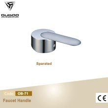 Chrome Finished Zinc Alloy Handle Lever For Faucet