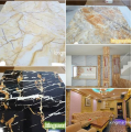 Hot sale 4x8 pvc board price board pvc marble sheet