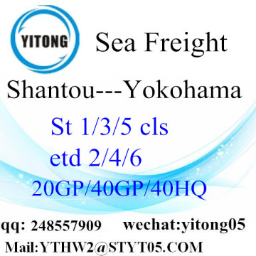 LCL Consolidation From Shantou to Yokohama