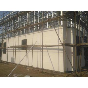 Light Steel Sandwich Panel Customized Prefab Villa