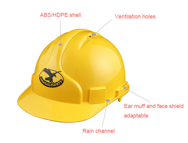 Hard Hat for Construction Use