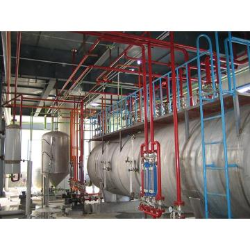 Safety Oil Tank  in Extraction Workshop