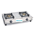 Gas Stove Stainless Steel Natural Polish