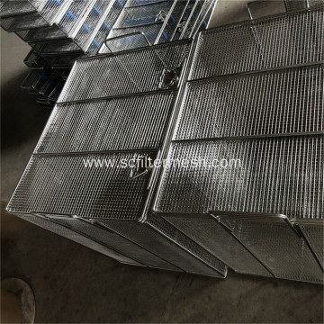 Heavy Duty Stainless Steel Mesh Baskets