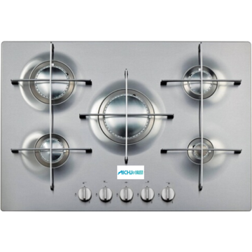 75cm Gas Cooktops Stainless Steel