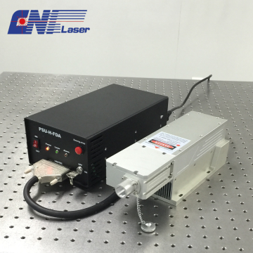 257nm ultraviolet q-switched laser